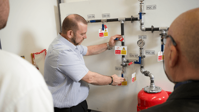 Competent Person Mechanical and Pressure Systems Trainer
